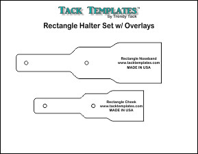 Rectangle Halter Set w/ Overlays **PDF**