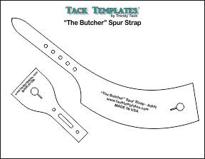 """The Butcher"" Spur Strap **PDF**"