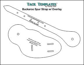 Buckaroo Spur Strap w/ Overlay **PDF**