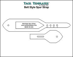Belt Style Spur Strap **PDF**