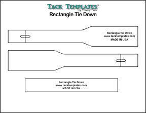 Tie Down - Rectangle **PDF**