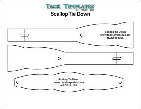 Tie Down - Scallop **PDF**