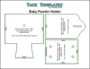 Baby Powder Holder **PDF**