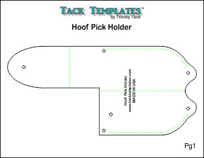 Hoof Pick Holder **PDF**