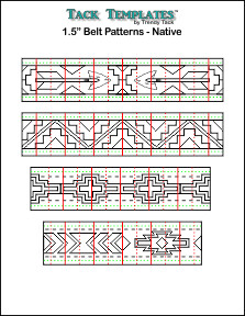 Belt Pattern - Native  **PDF**