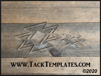 Aztec w/ Cutouts Applique Template
