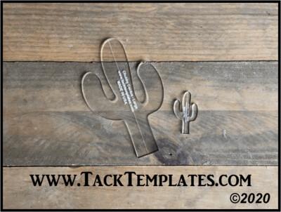Chubby Cactus Applique Template