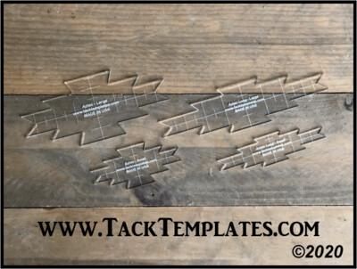 Aztec Applique Template