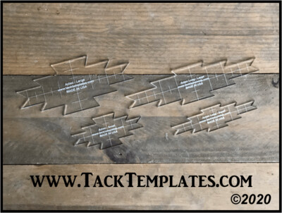 Aztec Long Applique Template