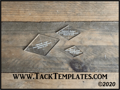 Diamond Applique Template