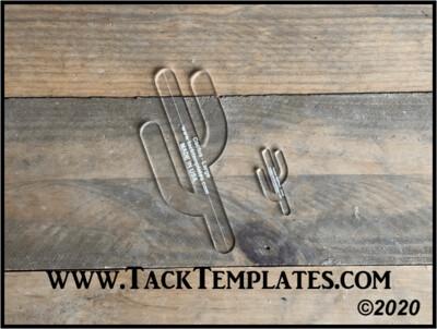 Cactus Applique Template