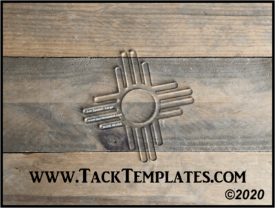 Sun Symbol Applique Template