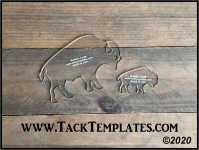 Buffalo Applique Template