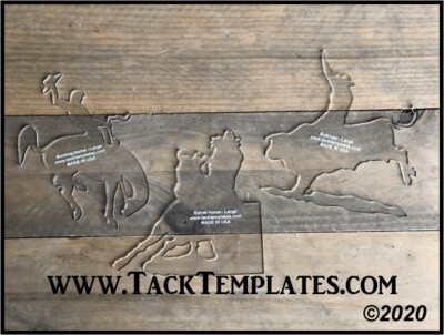 Rodeo Event Applique Template