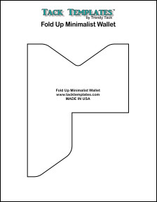 Fold Up Minimalist Wallet  **PDF**