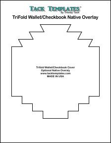 TriFold/Checkbook Native Overlay  **PDF**