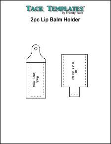 Lip Balm Holder - 2pc **PDF**