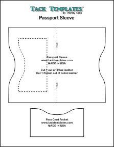 Passport Sleeve  **PDF**