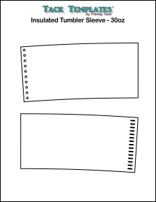 Insulated Tumbler Sleeve - 30 oz. **PDF**