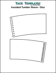 Insulated Tumbler Sleeve - 20 oz. **PDF**