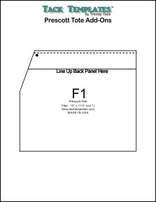 Prescott Tote -  Add Ons **PDF**