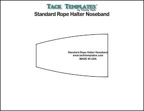 Standard Noseband - Rope Halter **PDF**