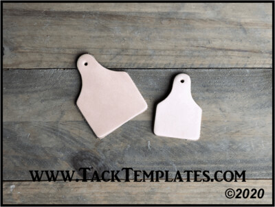 Ear Tag Leather Blanks