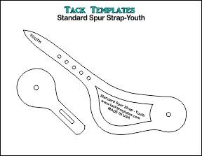 Standard Spur Strap-Youth **PDF**