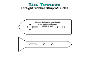 Slobber Strap with Buckle-Straight **PDF**