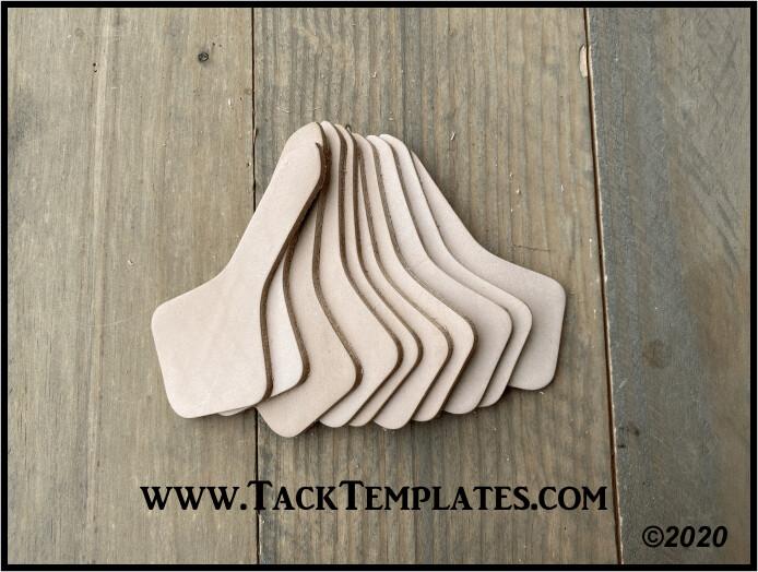Key Fob Leather Blanks (10pk)