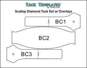 Scallop Diamond Tack Set (Double End) **PDF**