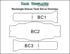 Rectangle Deluxe Tack Set w/ Overlays **PDF**