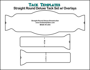 Straight Round Deluxe Tack Set w/ Overlays **PDF**