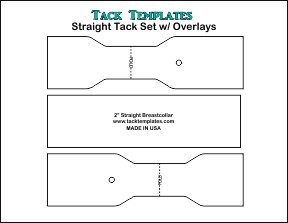 Straight Tack Set w/ Overlays **PDF**