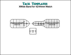 XWide Watchband for 42/44mm Watch **PDF**