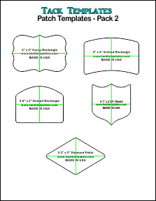 Patch Template - Pack 2 **PDF**