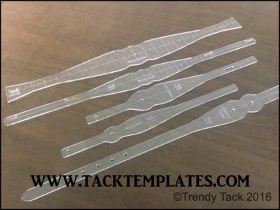 Standard Narrow Round Tack Set