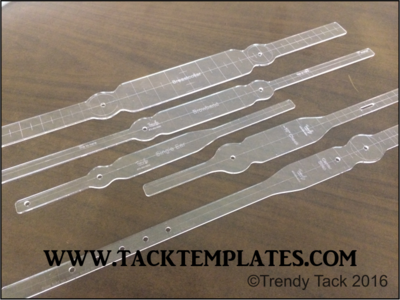 Straight Round Tack Set (Double End)
