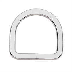 Flat Saddle Dee (Stainless Steel) - 3