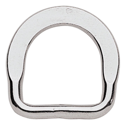 Flat Saddle Dee (Stainless Steel) - 1 1/4