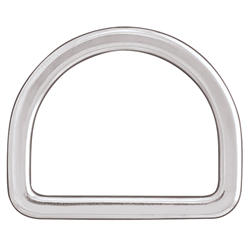 Flat Saddle Dee (Stainless Steel) - 2 1/2