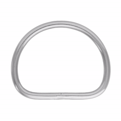 D-Ring-Welded (Stainless Steel)
