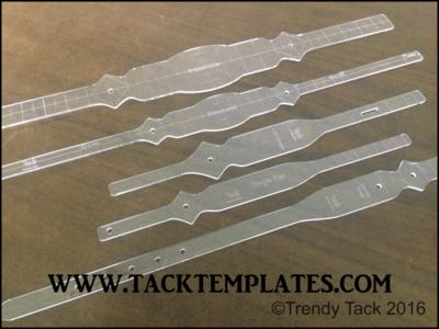 Straight Diamond Deluxe Tack Set