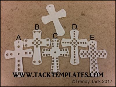Saddle Cross Template