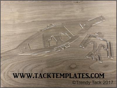 Trendy Tack Standard Thunderbird Noseband