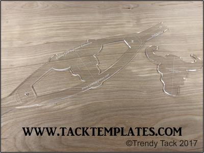 Trendy Tack Standard Steer Head Noseband