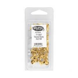 Assorted Tubular Rivets (Solid Brass)