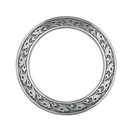 Horseshoe Brand Breast Collar Rings (Stainless Steel)