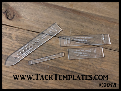Watch Band Templates (Straight)