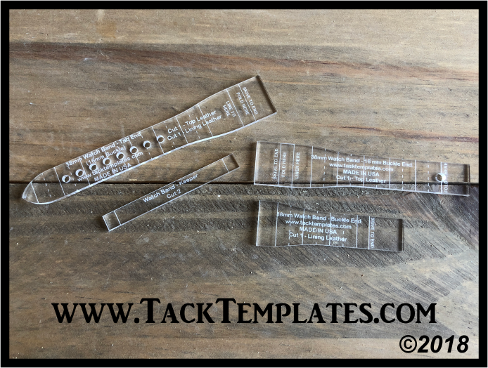 Watch Band Templates (Tapered)
